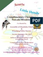 AMC Pancake Breakfast Poster 2014