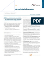 Construction and Projects in adaRomania Overview1