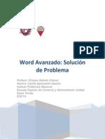 INFORME Word Avanzado TIC Ejemplo