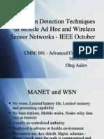 Oleg Aulov - NetworksPresentation