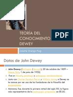 Teoria Del Conocimiento de John Dewey Agosto 2012