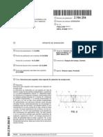Estructura para seguidor solar espacial de captación de energía solar