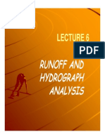 EH L4 Runoff and Hydrograph Analysis