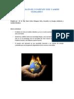 La Energia en El Contexto Del Cambio Climatico