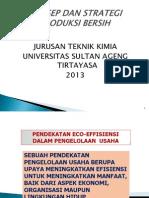 Produksi_Bersih Konsep Dan Strategi