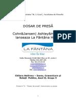 Dosar de Presa - La Fantana