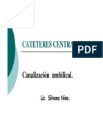 Cateteres Centrales Umbilicales