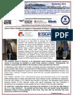 COESGR Newsletter November 2014