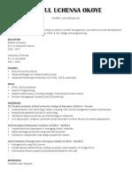resume content developer online