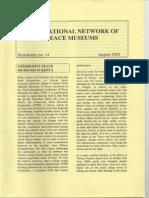 NEWSLETTER 14 Aug 2001