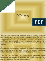E - Contract