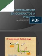 Flujo Permanente en Conductos a Presion