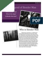 slenderman for portfolio