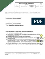 Bes-0105-Bol Realización Del Site Survey