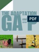 UNEP Adaption Gap Report