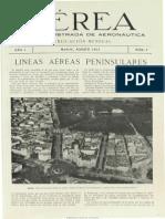 Aérea (Madrid). 1923-08, n.º 3