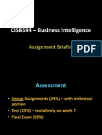 BI - Assignment Briefing