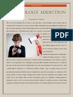technology addiction-opinion piece