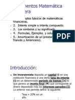Matematicas Financiera