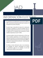Unidad 1 - Información Electoral