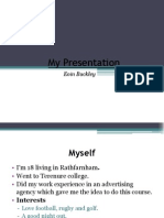 my presentation eoin buckley cadburys
