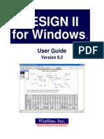 Guia del usuarioUser Guide