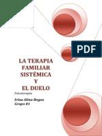 La Terapia Familiar Sistemica y El Duelo