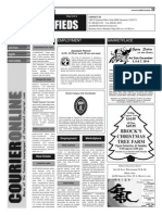 Claremont COURIER Classifieds 12-5-14