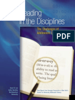 reading in the disciplines
