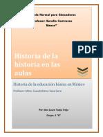 4.-La Historia de La Historia en Las Aulas