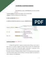 Paleografía romana.