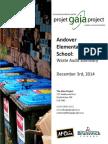 2014-12-05 Andover Elementary School Summary