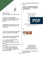SRCRIBID- Funções Da Linguagem