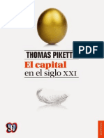 Piketty, Thomas - El Capital en El Siglo XXI -FCE