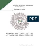 Enfermedades genéticas del metabolismo del glucógeno