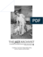 Jazz Archivist Vol. 27 2014