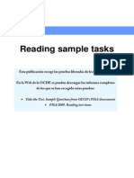 PISA SAMPLE READING TEST