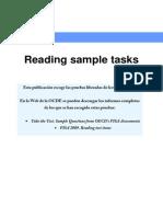 PISA SAMPLE READING TEST