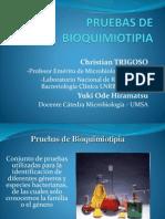 Pruebas de Bioquimiotipia