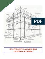 scaffolding awareness course