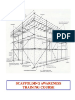 scaffolding awareness course