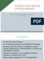 Test Gestaltico Viso-motor de Laureta Bender
