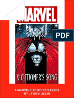 Marvel Heroic RPG Executioners Song