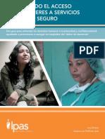 Protegiendo El Acceso de Las Mujeres a Servicios de Aborto Seguro