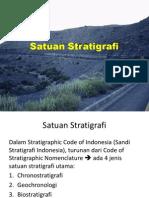 Satuan Stratigrafi