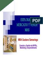 Explora Tu Mercado y Vende Mas Gustavo Samaniego