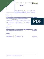 Examen Resuelto Matematicas Selectividad 2000