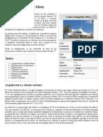 Centre Pompidou-Metz - Wikipedia, La Enciclopedia Libre