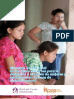 Situación del Personal de las Casas Maternas para la detección y atención de mujeres y adolescentes víctimas de violencia sexual