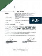 Acta de Inicio Luis Lozano